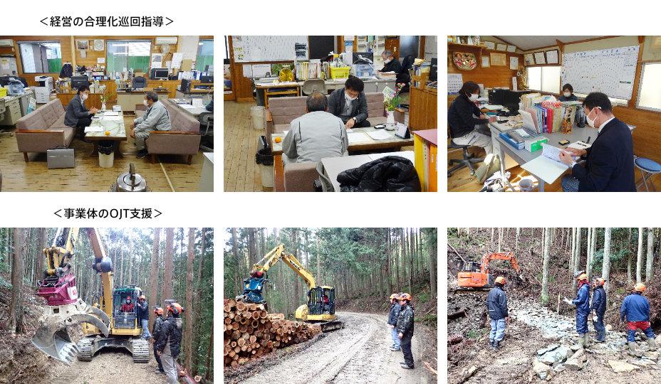 林業事業体支援業務