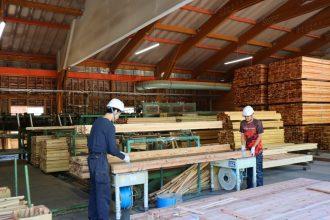 久万広域森林組合 工場